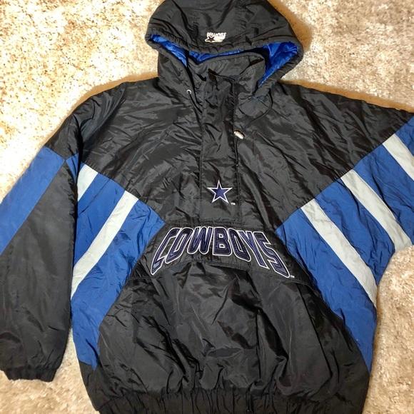 brand new d9d0c a053f VTG NFL Dallas Cowboys Proline STARTER Jacket XXL